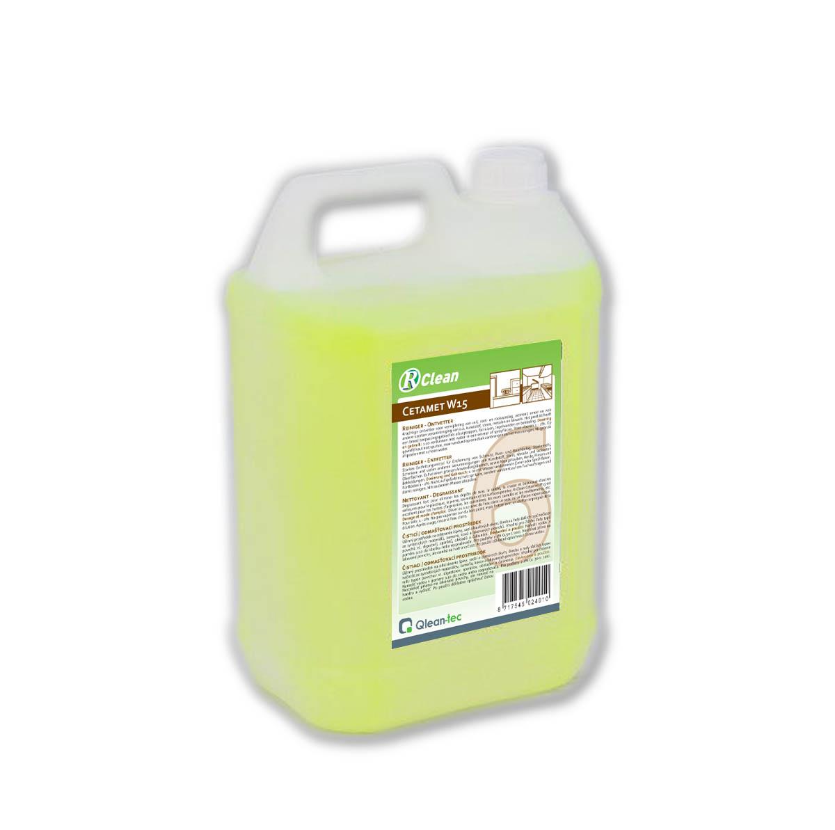 R-Clean Cetamet W 15 - Čisticí přípravky pro kuchyně, restaurace a do myček nádobí