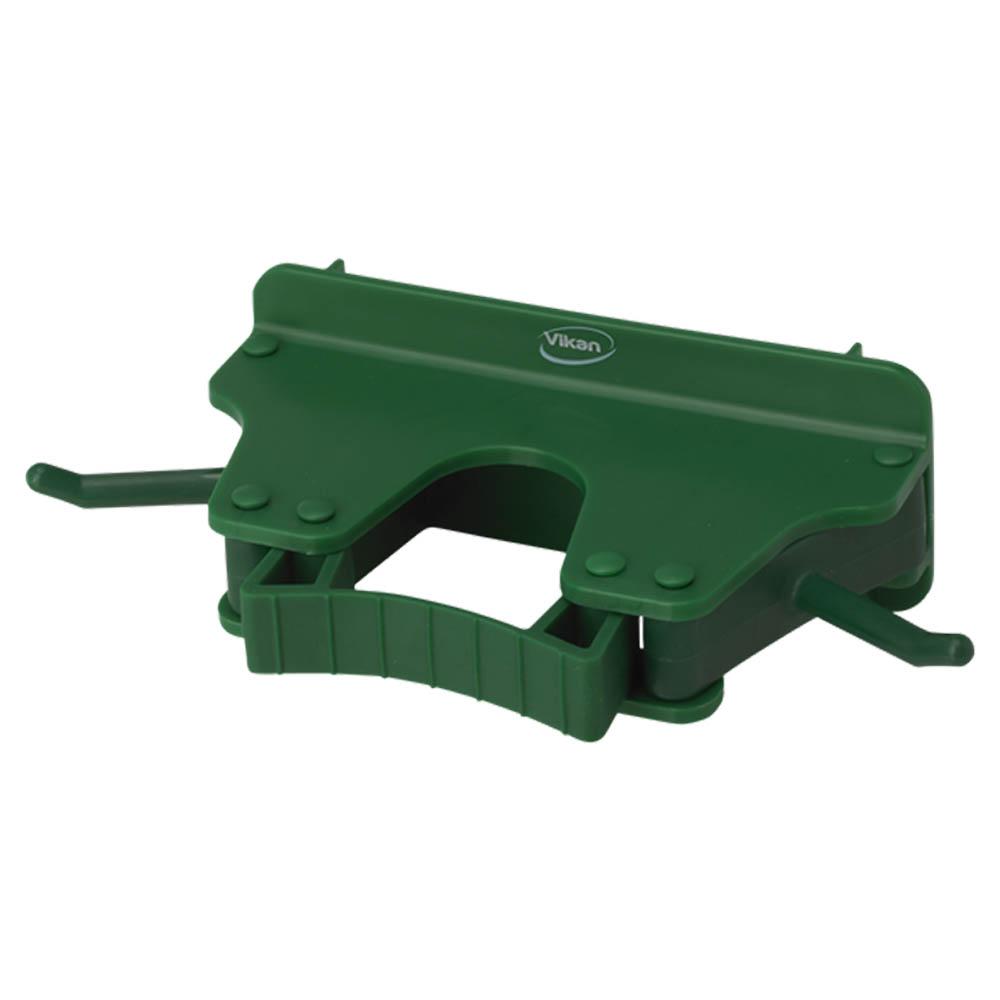 Nástěnný věšák na 1 - 3 produkty, 155mm zelený, ks - Čisticí přípravky pro kuchyně, restaurace a do myček nádobí