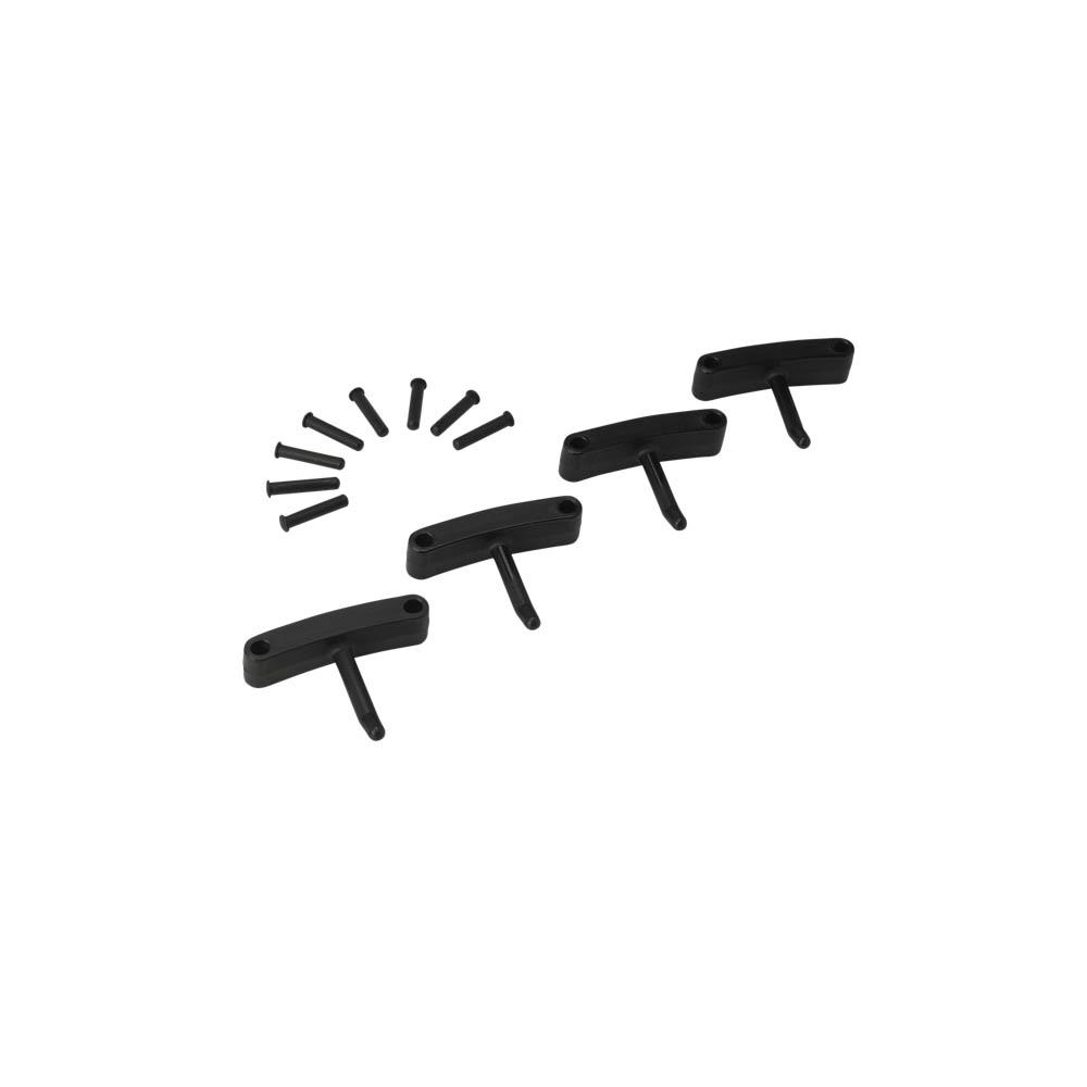 Háčky pro věšák 1017 a 1018, 4ks černé, ks - Čisticí přípravky pro kuchyně, restaurace a do myček nádobí