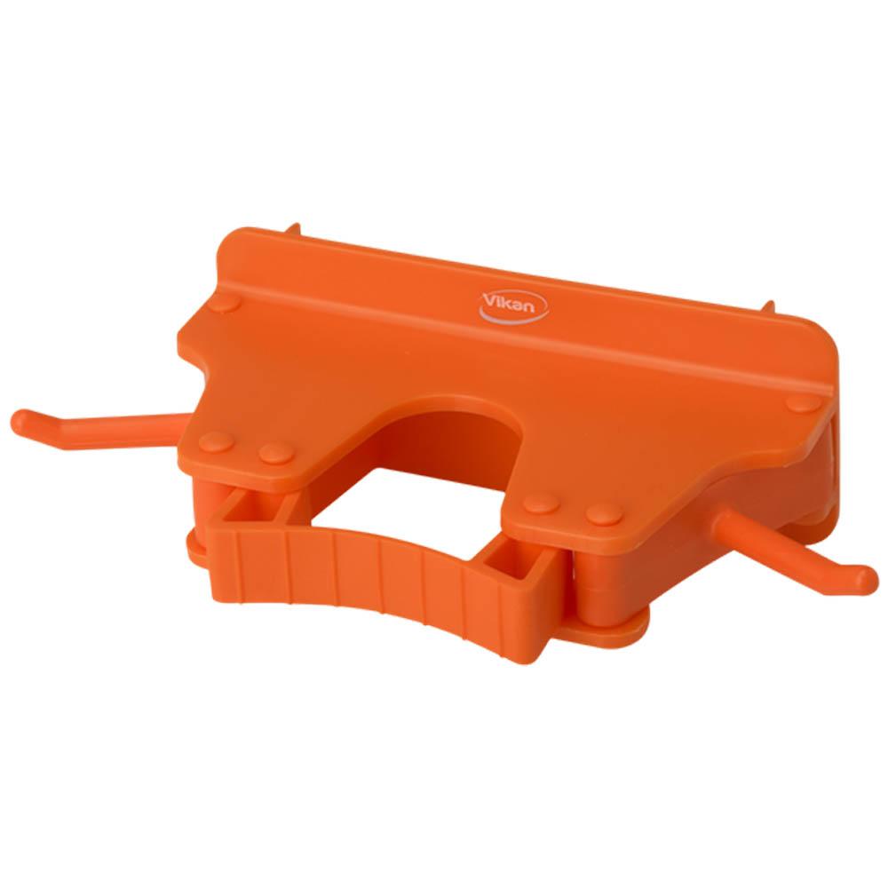 Nástěnný věšák na 1 - 3 produkty, 155mm oranžový, ks - Čisticí přípravky pro kuchyně, restaurace a do myček nádobí