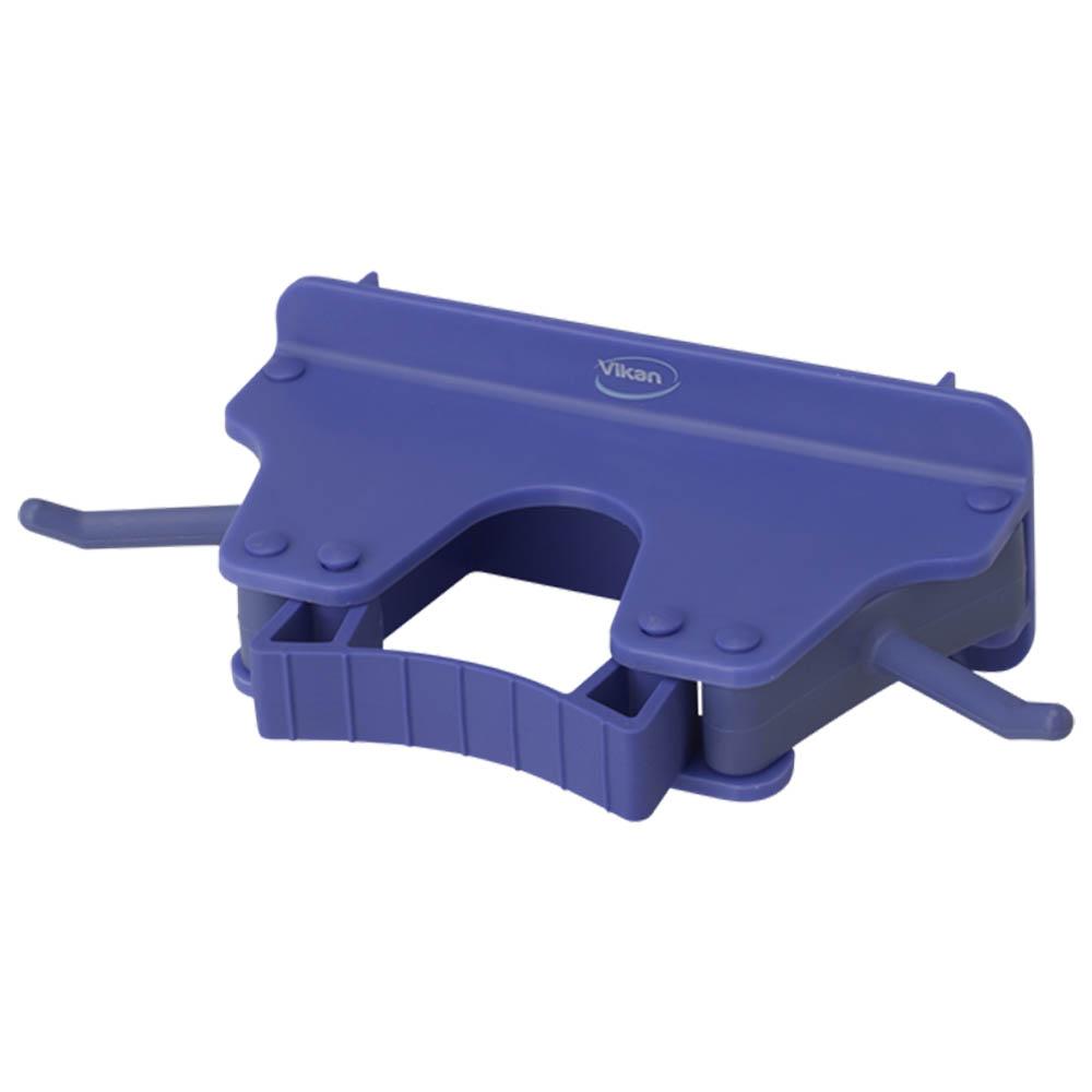 Nástěnný věšák na 1 - 3 produkty, 155mm fialový, ks - Čisticí přípravky pro kuchyně, restaurace a do myček nádobí