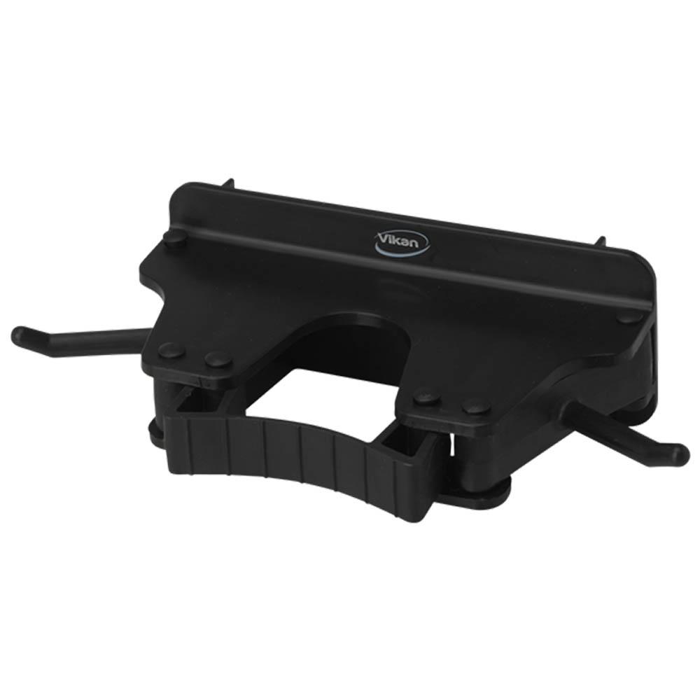Nástěnný věšák na 1 - 3 produkty, 155mm černý, ks - Čisticí přípravky pro kuchyně, restaurace a do myček nádobí